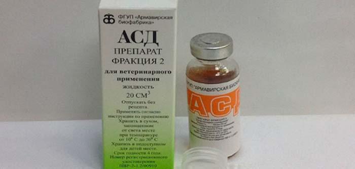 АСД-2 при тромбофлебите и варикозе